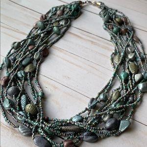 Jewelry - Beautiful Multi Strand Beaded Necklace